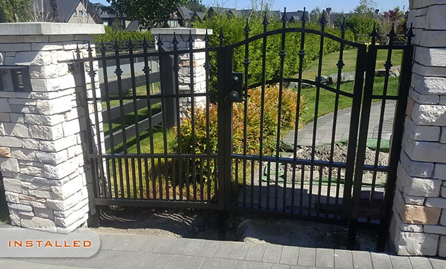 Custom Driveway Gate Designing, Fabrication and Installation in Langley, Surrey and Surrounding Area