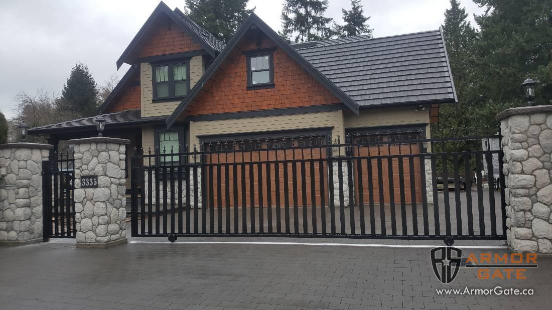 Sliding Gates Driveway Gates Langley Surrey Salmon
