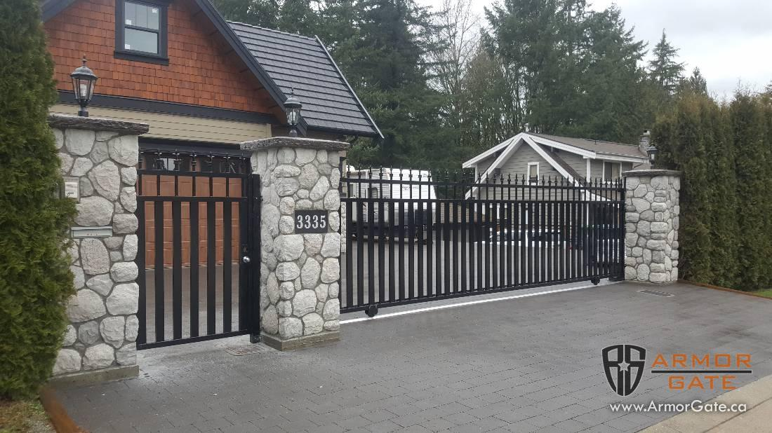 Sliding Gates Driveway Gates Langley Surrey Salmon